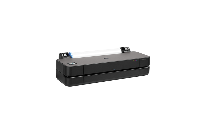 "HP DesignJet T230 Large Format Compact Wireless Plotter Printer - 24"", with Mobile Printing"