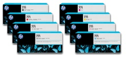 [B6Y22A] HP 771 Light Gray 775ml Inkjet Cartridge