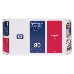 [C4847A] HP 80 Magenta 350ml Ink Cartridge