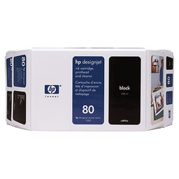 [C4871A] HP 80 Black 350ml Ink Cartridge