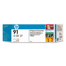 [C9470A] HP 91 Light Cyan 775ml Pigment Inkjet Cartridge