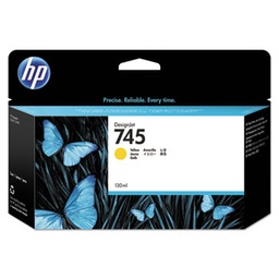 [F9J96A] HP 745 130ml Yellow Ink Cartridge