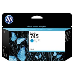 [F9J97A] HP 745 130ml Cyan Ink Cartridge