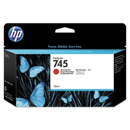 [F9K00A] HP 745 130ml Chromatic Red Ink Cartridge