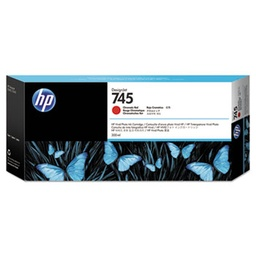 [F9K06A] HP 745 300ml Chromatic Red Ink Cartridge