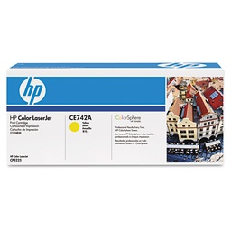 [CE742A] CE742A Toner, 7300 Page-Yield, Yellow